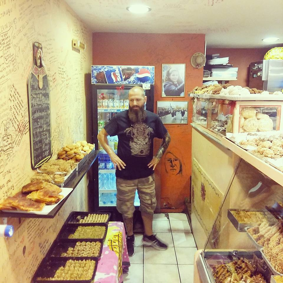 sweets rosy's bakery corfu greece
