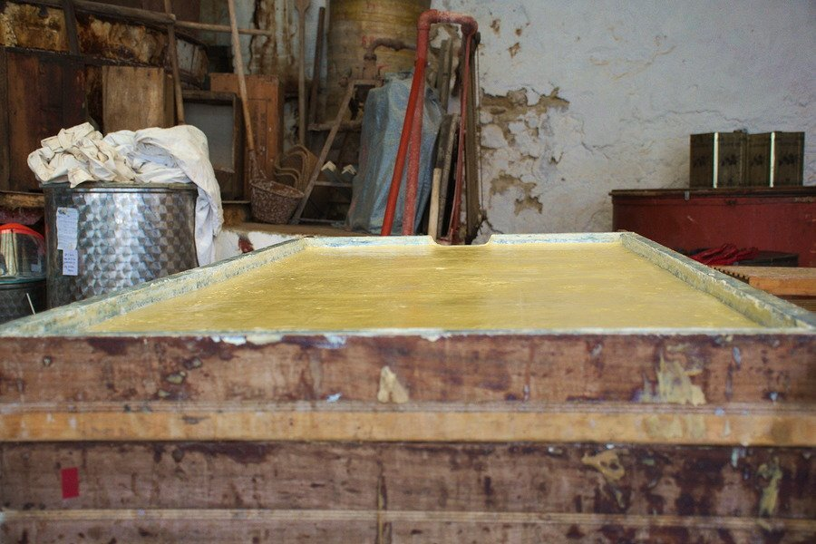 soap factory process patounis