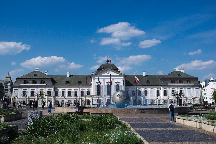 presidential palace bratislava slovakia