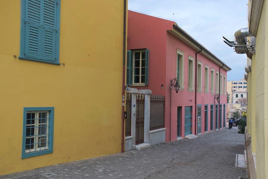 plaka athens greece street