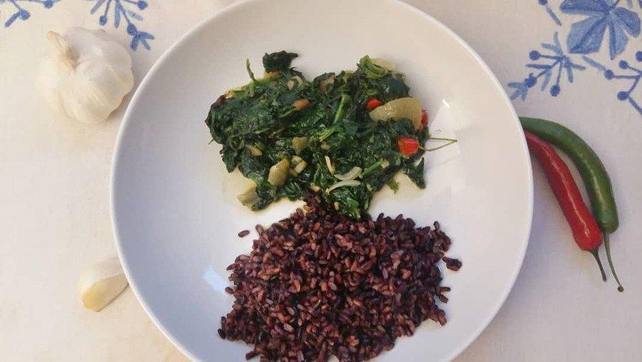 hamli eritrean vegan dish
