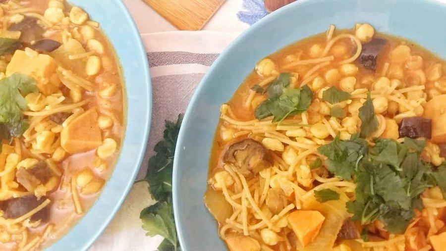 shorba vegan moroccan soup